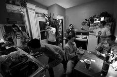 Kitchen Party BW