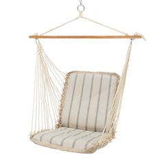 NEW for 2017 / 2018 Cove Pebble Cushioned Single Swing by Pawleys Island