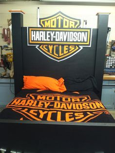 7.5' Queen size Harley Davidson Bed