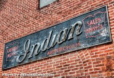 Indian Motorcycle Shop where James Dean got his first Indian motorcycle Fairmount Indiana | Grant County Indiana | James Dean Fairmount Indiana