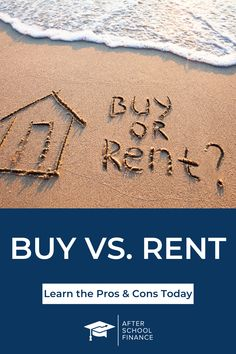 Are you evaluating the pros Home Buying Tips, Buying Your First Home, Investing Money, Real Estate Investing, Rent Vs Buy, Real Estate Rentals, Financial Analysis
