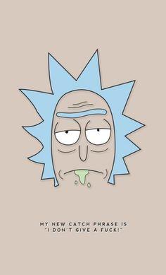Rick and Morty Rick And Morty Quotes, Rick And Morty Poster, Ricky Y Morty, Arte Dope, Iphone Wallpaper, Art Drawings, Anime, Nerd, Geek Stuff