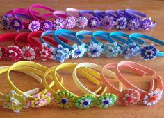 Cintillos para niñas hechos de foami visita : http://artistic-crafts.blogspot.co.uk/