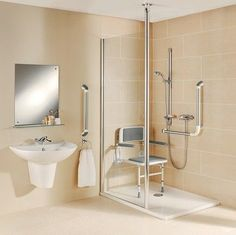Care Home Shower