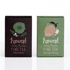 Harvest Fine Tea  Our very own selection of fine teas, in collaboration with tea house Crema. Harvest Fine Tea / 2012