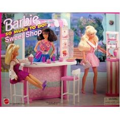 Barbie Sweet Shop 1995 super IMHO since this the first I have ever seen of this playset and I thought I knew all the So Much To Do sets!