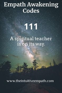 Specific number sequences for the Empath community. Spiritual Meaning, Spiritual Life, Spiritual Awakening, Spiritual Quotes, Healing Quotes, Angel Number Meanings, Angel Numbers, Empath Abilities, Intuitive Empath