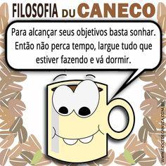 Todo humor e filosofia do Caneco, personagem da Doce de Caneca