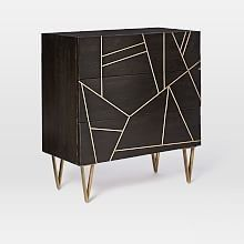 West Elm offers modern furniture and home decor featuring inspiring designs and colors. Create a stylish space with home accessories from West Elm. Silver Dresser, 3 Drawer Dresser, Dresser As Nightstand, Dressers, Nightstands, Luxury Furniture, Modern Furniture, Home Furniture, Furniture Design
