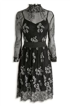 Party season has arrived and the LBD is definitely out to play, with some lace too!