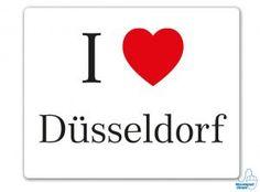 I love Düssseldorf Mousepad