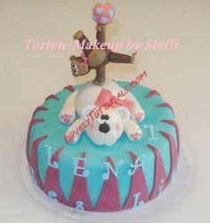 Bear and monkey cake tutorial