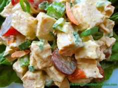 The Foodie Physician: Recipe Resuscitation: Curried Chicken Salad