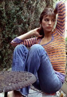 Jane Birkin style.