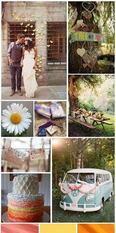 hippie wedding ideas | hippie wedding