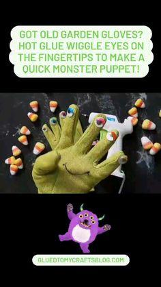 Halloween Craft Activities, Halloween Art Projects, Work Activities, Halloween Crafts For Kids, Easy Crafts For Kids, Art For Kids, Activity Day Girls, Puppet Crafts, Montessori Toddler