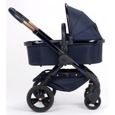 iCandy Peach DC Designer Collection Pushchair - Midnight Edition. Deep blue frame with rose gold detailing. £1050. AVAILABLE NOW! https://www.babybirds.co.uk/icandy-peach-dc-midnight-edition