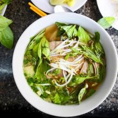 Thai Vegetable Noodle Soup with Tofu