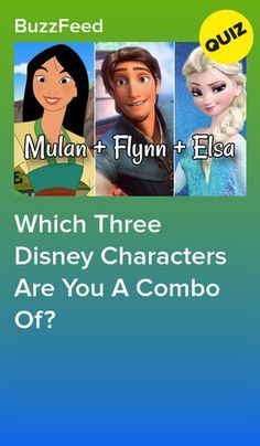 Which Three Disney Characters Are You A Combination Of? Which Three Disney Characters Are You A Combo Of? This image. Disney Buzzfeed, Quizzes Buzzfeed, Disney Princess Quiz Buzzfeed, Disney Princess Facts, Buzzfeed Test, Oh My Disney Quizzes, Quizzes For Kids, Fun Quizzes To Take, Disney Characters