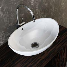 Großartig VILSTEIN© Keramik Waschbecken Aufsatz-Waschbecken Aufsatz  WI19