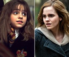 Hermoine Granger - Emma Watson  Appearing this summer in the movie, The Bling Ring, Emma Watson has also continued in the acting world. She also has been attending college off and on at Brown and Oxford University.