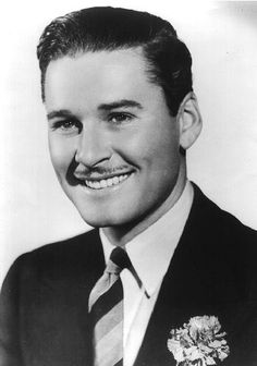 Errol Flynn - one of the most handsome men of Old Hollywood. Ever.