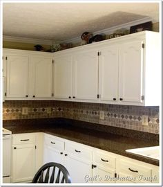 Find This Pin And More On Kitchen Remodel Ideas. Tile Backsplash And Laminate  Countertop