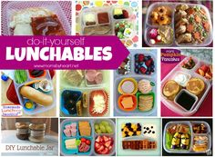 diy lunchables round up - momsbyheart.net #lunchables #bento