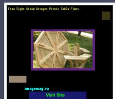 Free Eight Sided Octagon Picnic Table Plans 090343 - The Best Image Search