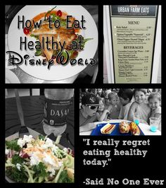 While the delicious treats at Disney World parks are half the fun of going, there are ways to be and eat healthy on your Disney vacation.