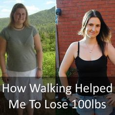 How Walking Helped Me To Lose 100lbs - I have to agree - I love walking. It has helped me to lose 25lbs along with a much healthier diet.