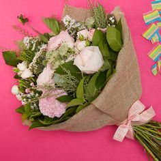 Order our Sweet Santa Barbara flowers online - a bouquet of roses, september & more. Send flowers online to that special someone with Bloom Magic. Send Flowers Online, Anniversary Flowers, Same Day Flower Delivery, Flowers Delivered, Rose Bouquet, Bloom, Magic, Table Decorations, Santa Barbara