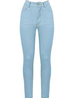 Amapô Calça Jeans Skinny Cintura Alta - Farfetch 0453e4f40a2
