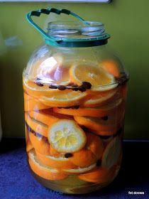 Moje Małe Czarowanie: Nalewka pomarańczowo - kawowa