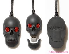 """""""I'm so jealous right now, my friend from Hong Kong just sent over these images of the JOYCE x Alexander #McQueen #Skull #USB given as a gift to JOYCE customers who spend over HK$10,000 (about US$1,300)! That amount can be easily achieved in that store, JOYCE is equivalent to a Barney's New York in the US. The McQueen Skull USB is only 2gb but who will really use it right? This will look super dope as a necklace too, ahhh I want one!"""""""