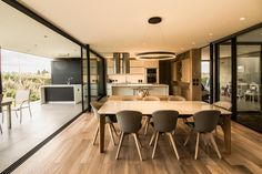 Image 16 of 22 from gallery of LL House / Ground Floor Architect House, Modern Exterior, Open Plan Living, Modern House Design, Contemporary Interior, Ground Floor, Architecture, Fixer Upper, Home Projects