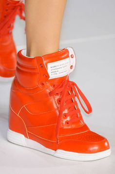 Mark 2012 the year of the wedge sneaker (as seen at Marc by Marc Jacobs, Spring '12)