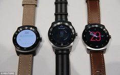 As well as being waterproof, the G Watch R features a heart-rate sensor on the rear, but d...