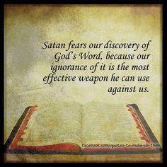 Study His Word!