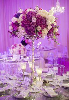 Photographer: Eli Turner Studios; Wedding reception centerpiece idea