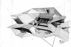 "paavo: "" Claude Parent & Paul Virilio - Function of the Oblique Claude Parent and Paul Virilio looked at using oblique planes to create architecture of disequilibrium in an attempt to bring the..."