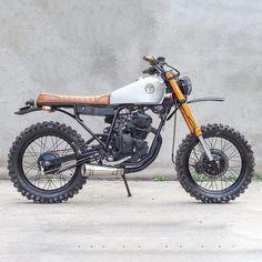 Yamaha Scorpio by MalaMadre Motorcycles