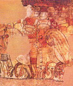 Detail of the Mural - Nunó Sanç