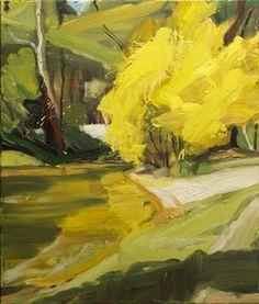 Tumblr  robert malherbe, autumn landscape ii, oil on linen