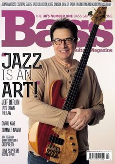 Jeff Berlin - Bass Guitar Magazine Cover [United Kingdom] (October 2014)