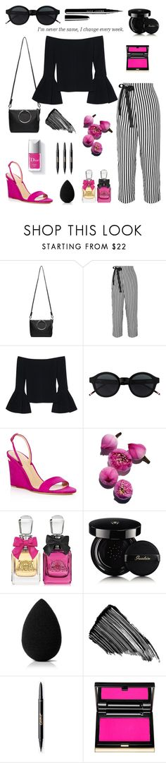 """Taking the color as my own."" by schenonek ❤ liked on Polyvore featuring Kara, J.Crew, Alexis, Giuseppe Zanotti, Couture Colour, Juicy Couture, Guerlain, beautyblender, Sisley and Kevyn Aucoin"