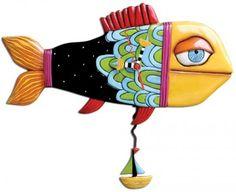 Sail Away Fish Clock | Michelle Allen Designs