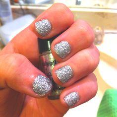 Disco ball nails