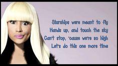 Nicki Minaj- Starships lyrics (Clean Version)