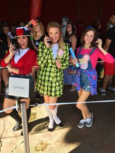 Cher Dionne and Tai making an appearance this Halloween! #AsIf #Clueless  sc 1 st  Pinterest & Cher Horowitz - Clueless Halloween Costume | Style | Pinterest ...